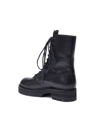 - ANN DEMEULEMEESTER - Leather combat boots