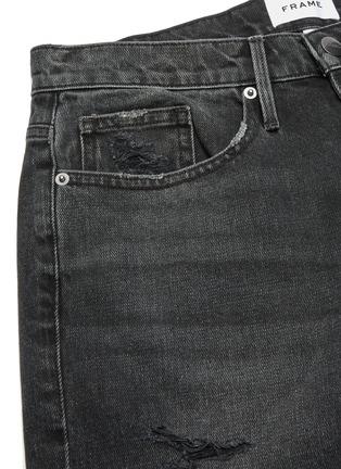 - FRAME DENIM - 'L'Homme' Distress Demin Shorts