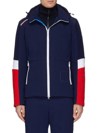 Main View - Click To Enlarge - ROSSIGNOL - 'Supercorde' colourblock ski jacket