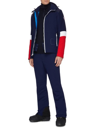 Figure View - Click To Enlarge - ROSSIGNOL - 'Supercorde' colourblock ski jacket