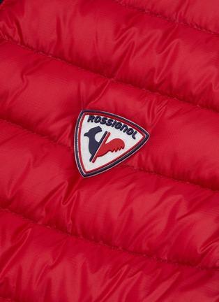 - ROSSIGNOL - 'Verglas' stand collar quilted vest