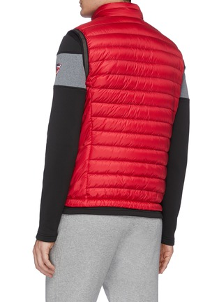 Back View - Click To Enlarge - ROSSIGNOL - 'Verglas' stand collar quilted vest