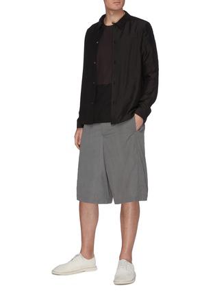 Figure View - Click To Enlarge - DEVOA - Rip-stop Shorts