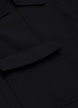 - 3.1 PHILLIP LIM - Detachable collar gabardine jacket