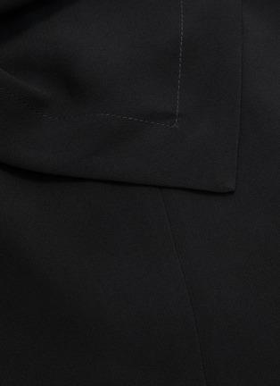 - 3.1 PHILLIP LIM - Removable scarf crepe cady dress