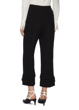 Back View - Click To Enlarge - 3.1 PHILLIP LIM - Button cuff flared tailor pants