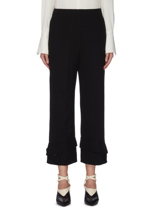 Main View - Click To Enlarge - 3.1 PHILLIP LIM - Button cuff flared tailor pants