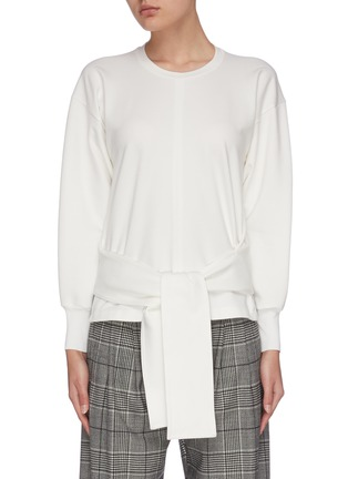 Main View - Click To Enlarge - 3.1 PHILLIP LIM - Waist tie crew neck top
