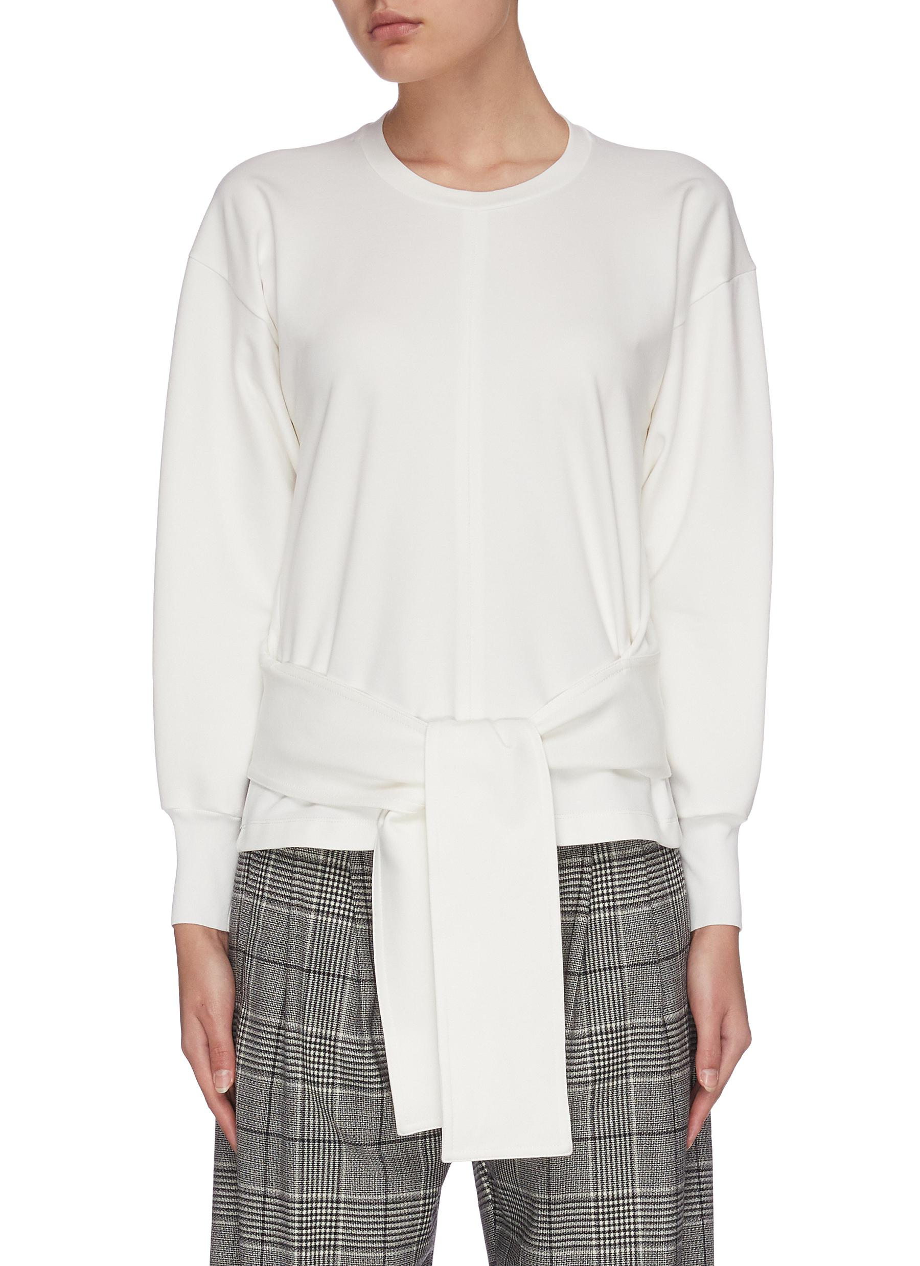 Buy 3.1 Phillip Lim Tops Waist tie crew neck top