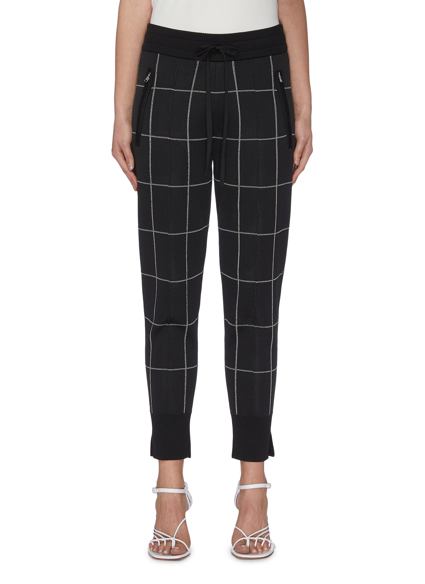 Buy 3.1 Phillip Lim Pants & Shorts Window pane check sweatpants