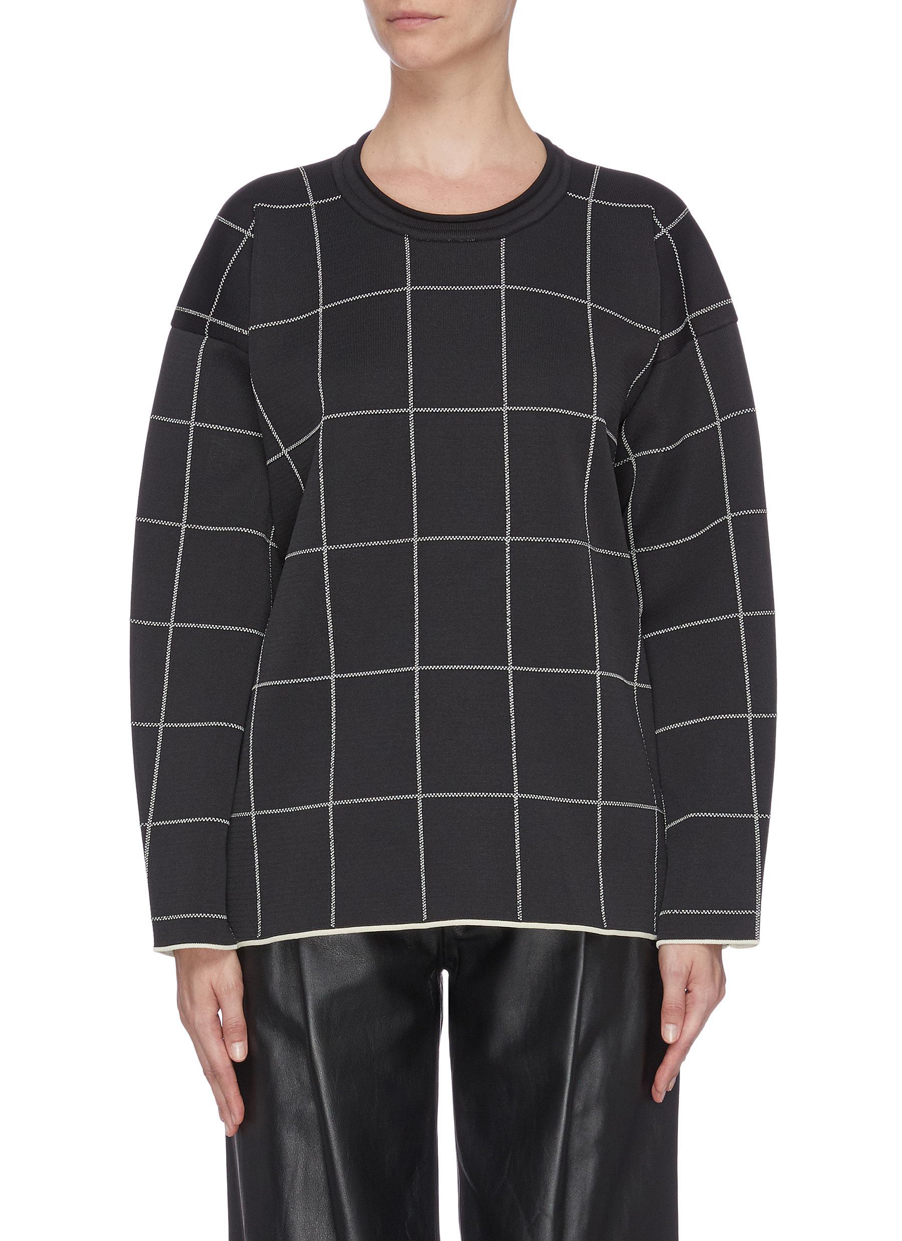 Buy 3.1 Phillip Lim Tops Window pane check sweatshirt