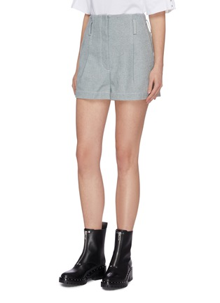 Detail View - Click To Enlarge - 3.1 PHILLIP LIM - Belted denim shorts