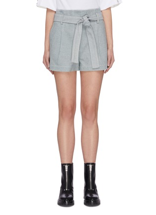 Main View - Click To Enlarge - 3.1 PHILLIP LIM - Belted denim shorts