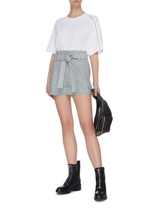 Figure View - Click To Enlarge - 3.1 PHILLIP LIM - Belted denim shorts
