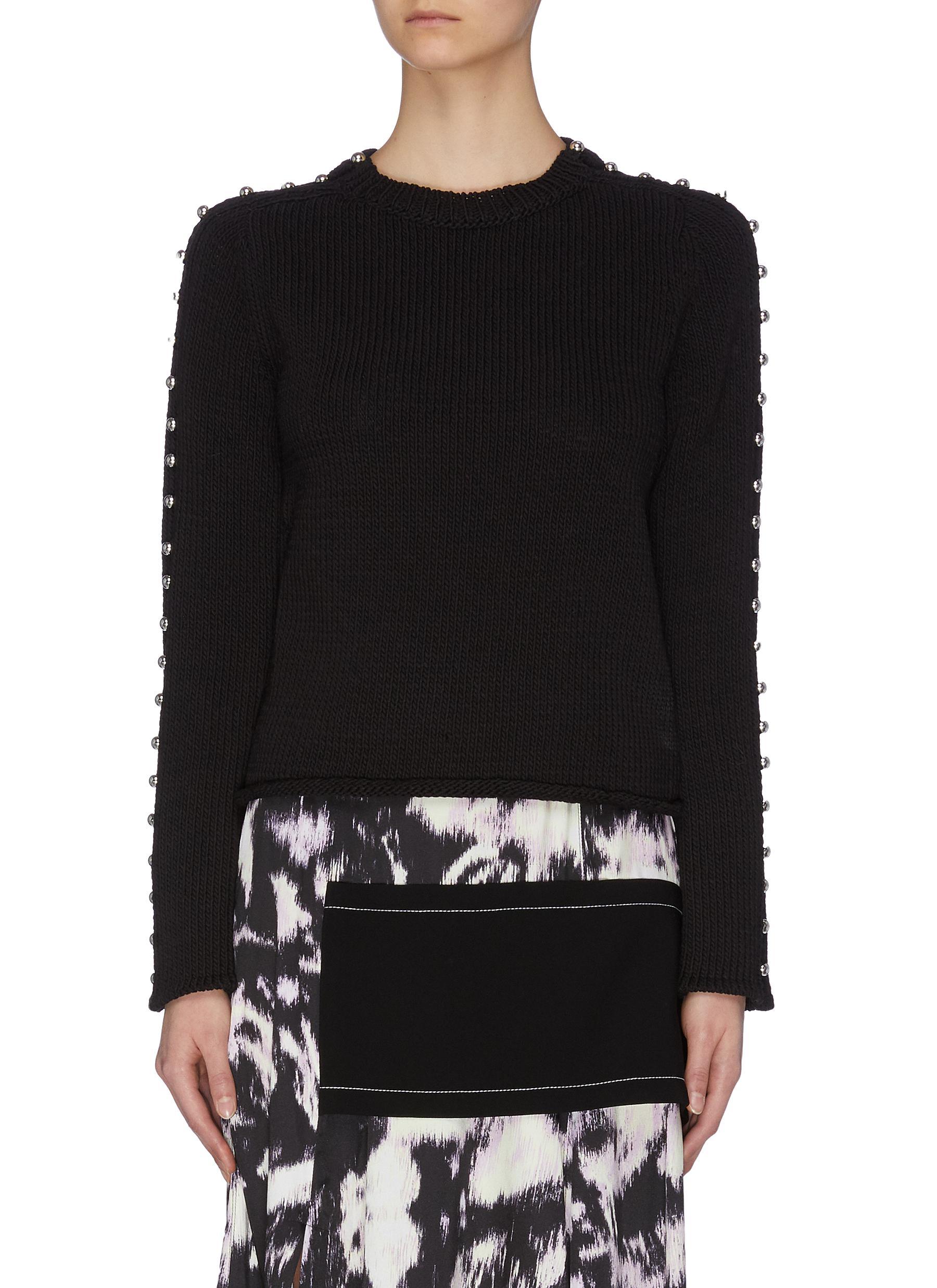 shop 3.1 Phillip Lim Pearl loop detail sweater online