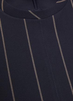 - 3.1 PHILLIP LIM - Waist tie pinstripe top