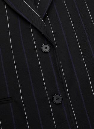 - 3.1 PHILLIP LIM - Double weave stripe boyfriend blazer