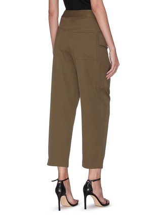 Back View - Click To Enlarge - 3.1 PHILLIP LIM - Patch pocket zip button cropped pants
