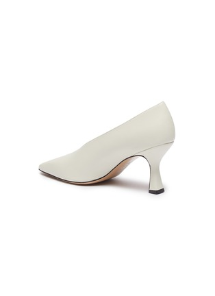 - FABIO RUSCONI - 'Cagno' leather pumps