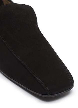 Detail View - Click To Enlarge - FABIO RUSCONI - Suede loafers