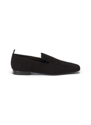 Main View - Click To Enlarge - FABIO RUSCONI - Suede loafers