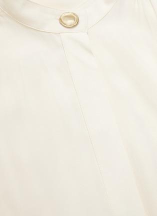 - PROENZA SCHOULER - Sash tie waist crepe blouse