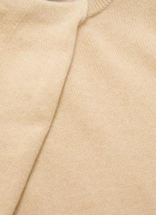 - PROENZA SCHOULER - Draped scarf cashmere sweater