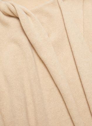 - PROENZA SCHOULER - Drape scarf cashmere knit top