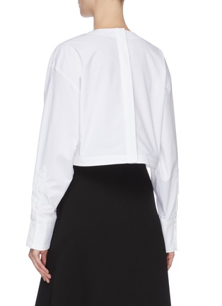Back View - Click To Enlarge - PROENZA SCHOULER - Flap pocket front top