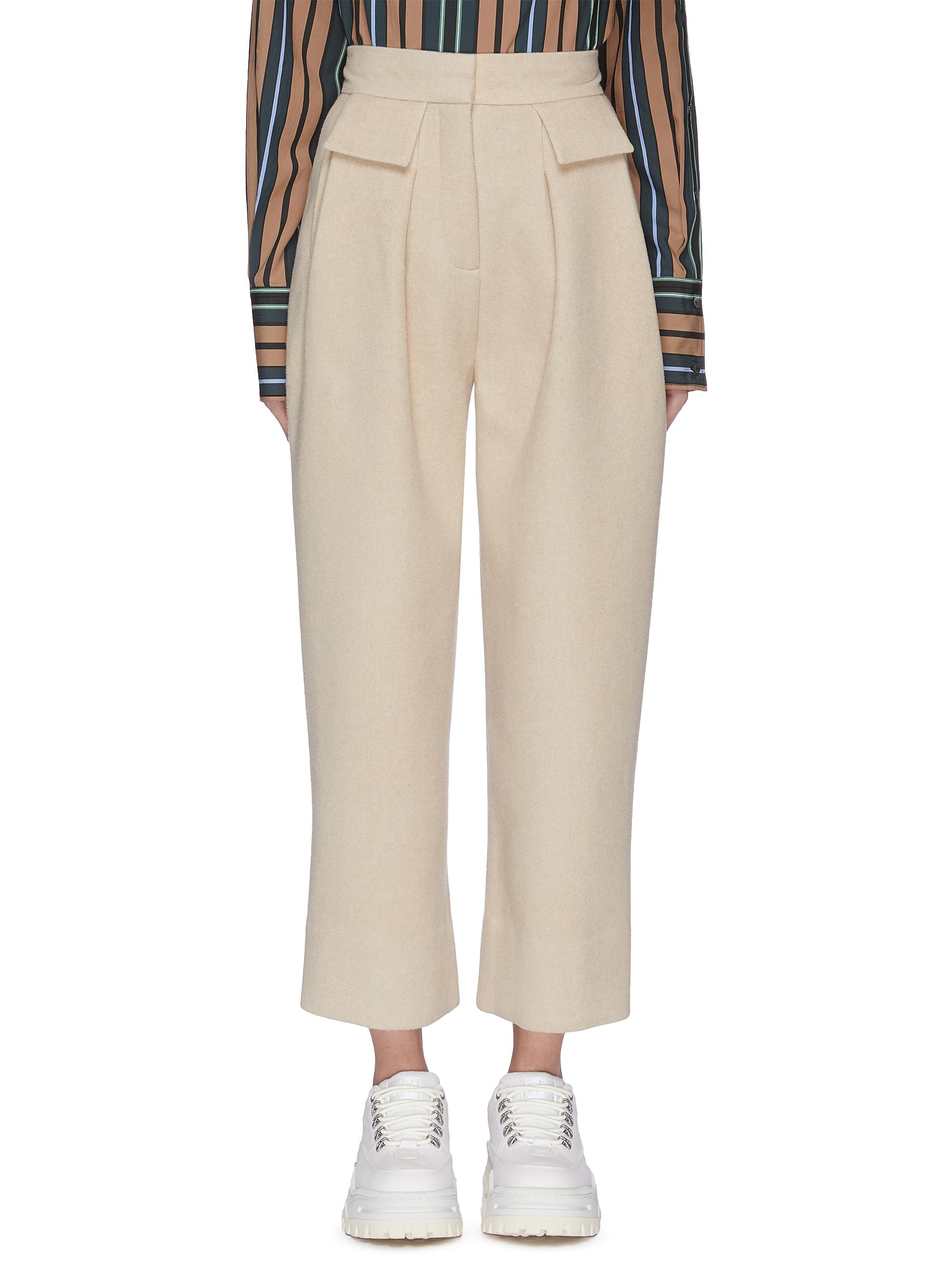 Weekday flap pocket twill pants by Ffixxed Studios