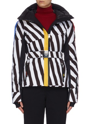 Main View - Click To Enlarge - ROSSIGNOL - x JCC 'Skifi' graphic print ski jacket