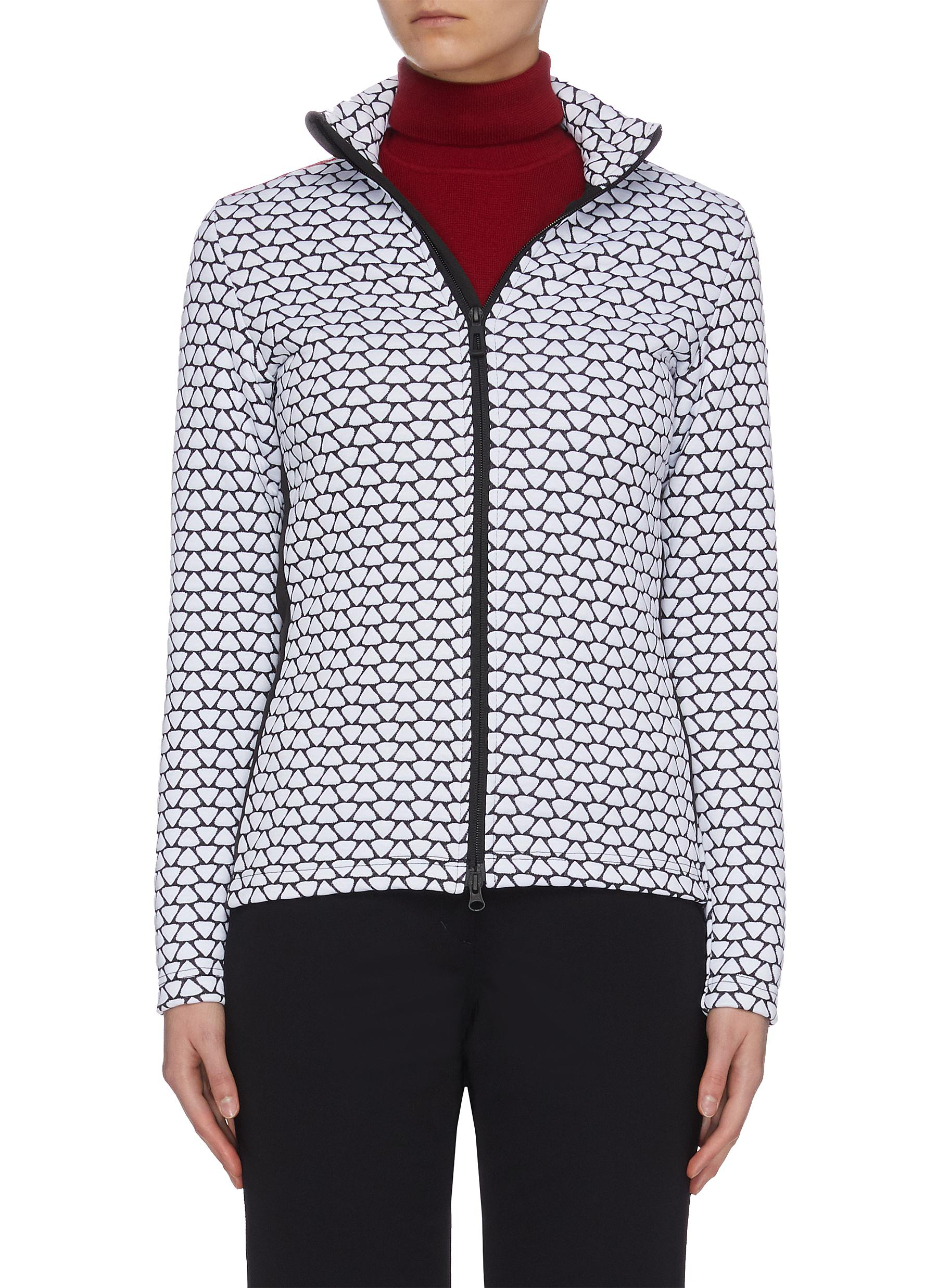 Buy Rossignol Jackets 'Hiver' allover print stand collar full zip layer