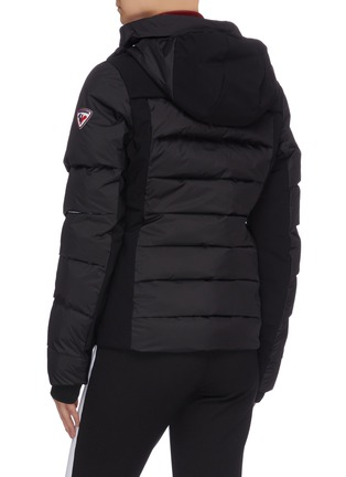 Back View - Click To Enlarge - ROSSIGNOL - 'Surfusion' tricolour puffer jacket