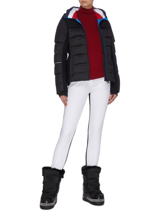Figure View - Click To Enlarge - ROSSIGNOL - 'Surfusion' tricolour puffer jacket