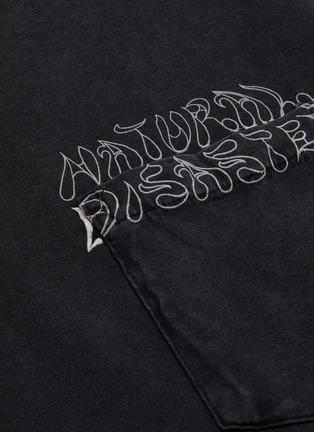 - HERON PRESTON - x Sami Miro Vintage 'Natural Disaster' print T-shirt