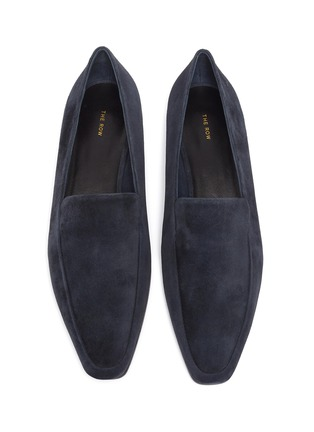 Detail View - Click To Enlarge - THE ROW - Suede loafers