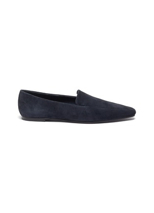 Main View - Click To Enlarge - THE ROW - Suede loafers
