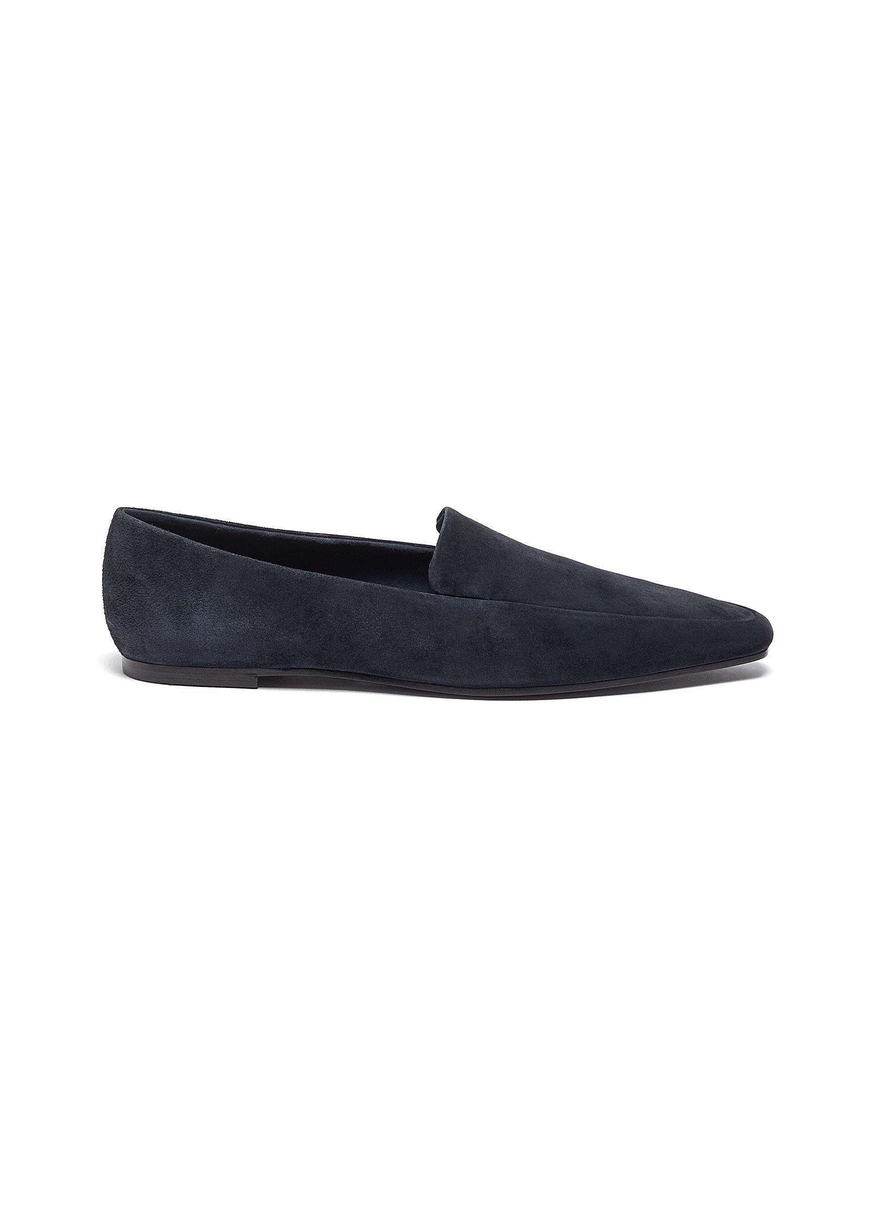 Suede loafers by The Row