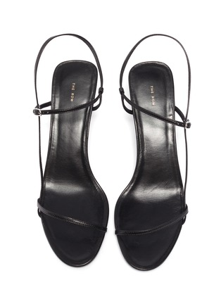 Detail View - Click To Enlarge - THE ROW - 'Bare 65' strappy leather sandals