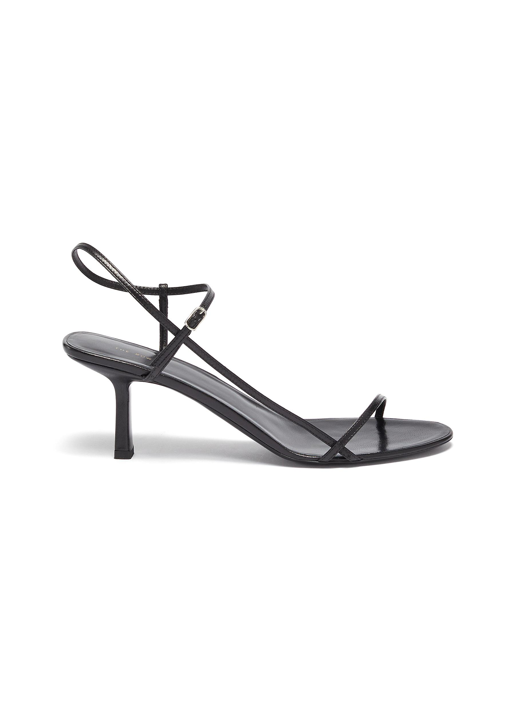 The Row Mid Heels Bare 65 strappy leather sandals
