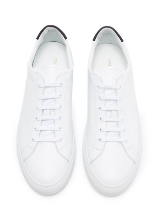 Detail View - Click To Enlarge - COMMON PROJECTS - Archilles nubuck sneakers