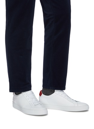 Figure View - Click To Enlarge - COMMON PROJECTS - Archilles nubuck sneakers