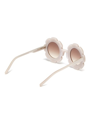 Figure View - Click To Enlarge - SONS + DAUGHTERS - 'Pixie' acetate flower frame kids sunglasses