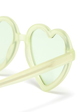 Detail View - Click To Enlarge - SONS + DAUGHTERS - 'Lola' heart frame sunglasses