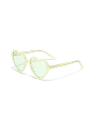 Main View - Click To Enlarge - SONS + DAUGHTERS - 'Lola' heart frame sunglasses