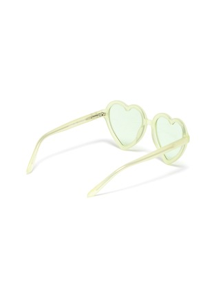 Figure View - Click To Enlarge - SONS + DAUGHTERS - 'Lola' heart frame sunglasses