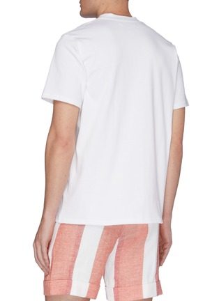Back View - Click To Enlarge - CASABLANCA - 'Casa Hotel' graphic print T-shirt