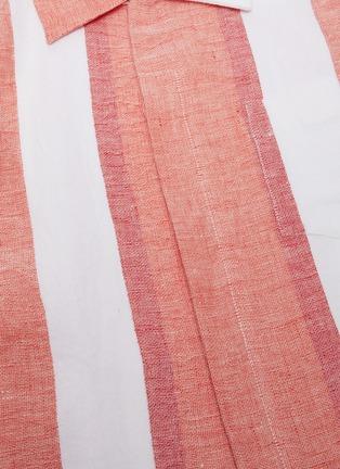- CASABLANCA - Stripe bowling shirt