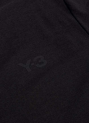 - Y-3 - Logo print classic pique polo