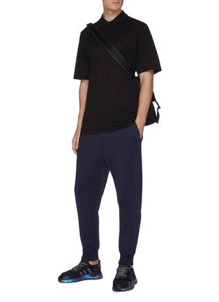 Figure View - Click To Enlarge - Y-3 - Logo print classic pique polo